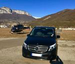 Voyage d'affaires avec voiture avec chauffeur privé