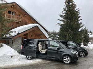 Transport privé en Mercedes classe V
