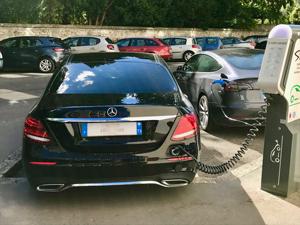 Transport de personne Mercedes classe E