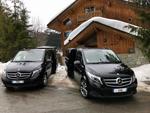 Transport privé avec chauffeur pour rejoindre Val d'Isère - Méribel - Courchevel - Val Thorens
